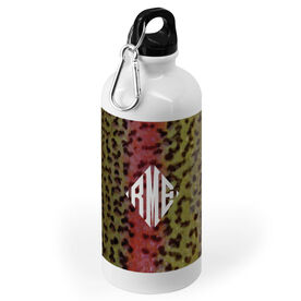 Fly Fishing 20 oz. Stainless Steel Water Bottle - Rainbow Trout