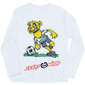 Seams Wild Soccer Long Sleeve Tech Tee - Lionardo