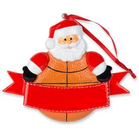 Basketball Ornament - Basketball Santa