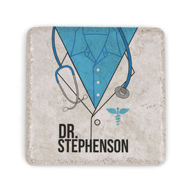 Personalized Stone Coaster - Doctors Outfit Unisex