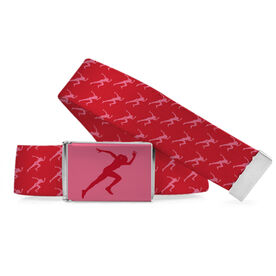 Track & Field Lifestyle Belt Female Sprinter