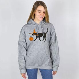 Field Hockey Hooded Sweatshirt - Witch Dog