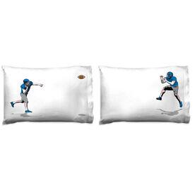 Football Pillowcase Set - Go For The Pass