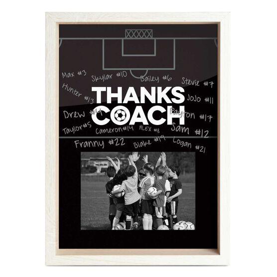 Soccer Premier Frame - Thanks Coach