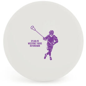 Guys Lacrosse Ball - Personalized Defenseman