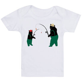 Fly Fishing Baby T-Shirt - Bears