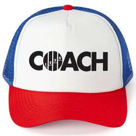 Track & Field Trucker Hat - Coach