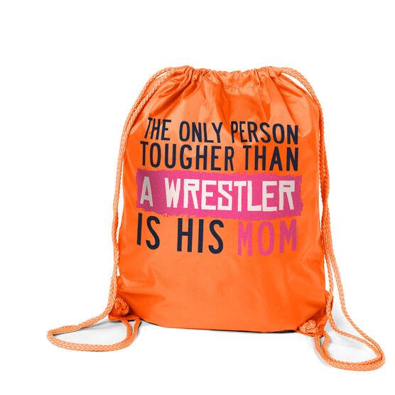 Wrestling Sport Pack Cinch Sack Tougher Than A Wrestler Mom