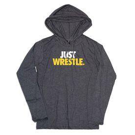 Men's Wrestling Lightweight Hoodie - Just Wrestle