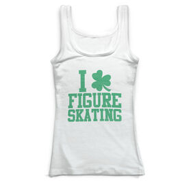 Figure Skating Vintage Fitted Tank Top - I Shamrock Figure Skating