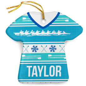 Crew Porcelain Ornament Ugly Sweater