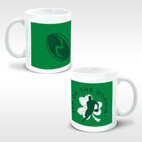 Rugby Coffee Mug Top Of The Mornin' Male Shamrock