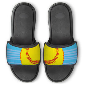 Softball Repwell® Slide Sandals - Ball Reflected