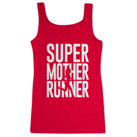 Running Women's Athletic Tank Top - Super Mother Runner