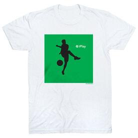 Soccer Tshirt Short Sleeve iPlay Soccer Boy