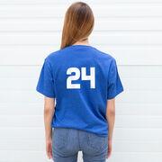 Softball T-Shirt Short Sleeve This Princess Wears Cleats