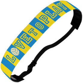 Volleyball Juliband No-Slip Headband - Love To Play