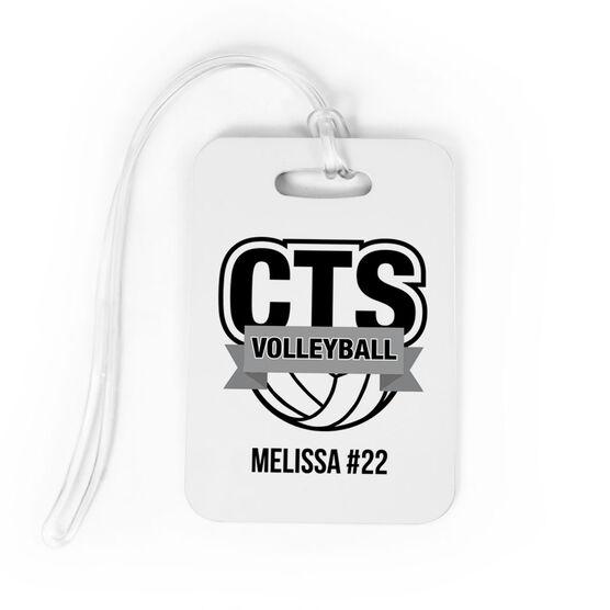 f429e8b0364 Volleyball Bag/Luggage Tag - Custom Logo | ChalkTalkSPORTS