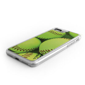 Softball iPhone® Case - Graphic