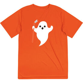 Hockey Short Sleeve Performance Tee - Hockey Ghost