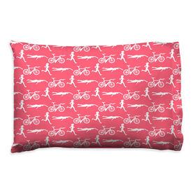Triathlon Pillowcase - Girl Pattern