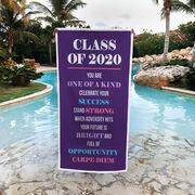 Premium Beach Towel - Class Of 2020 Carpe Diem