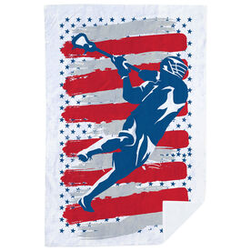 Guys Lacrosse Premium Blanket - USA Laxer
