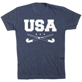 Field Hockey T-Shirt Short Sleeve - USA Field Hockey