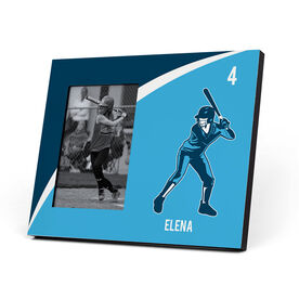 Softball Photo Frame - Personalized Softball Batter