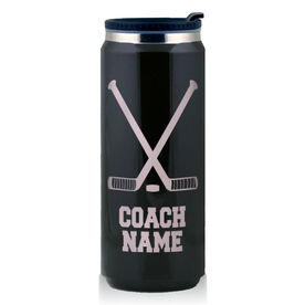 Stainless Steel Travel Mug Hockey Coach