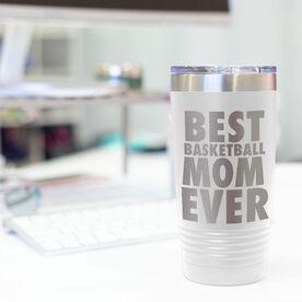Basketball 20 oz. Double Insulated Tumbler - Mom