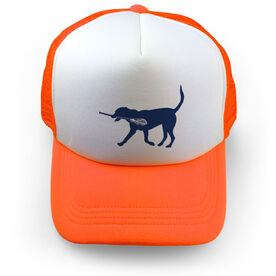 Lacrosse Trucker Hat Max The Lax Dog