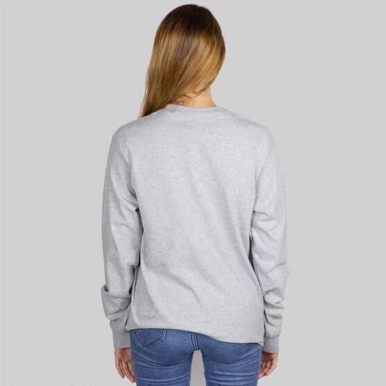 Field Hockey Long Sleeve T-Shirt - Witch Dog