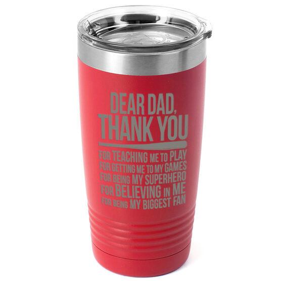 Softball 20 oz. Double Insulated Tumbler - Dear Dad