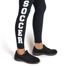 Soccer Leggings - Soccer