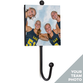 Girls Lacrosse Medal Hook - Your Team Photo