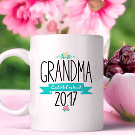 Grandma Established Personalized Coffee Mug