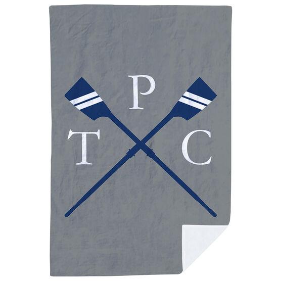 Crew Premium Blanket - Custom Rowing Initials