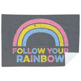Premium Blanket - Follow Your Rainbow