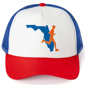Running Trucker Hat - Florida Male Runner