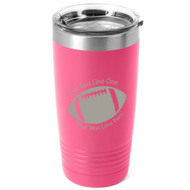 Football 20 oz. Double Insulated Tumbler - Icon