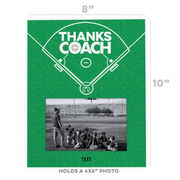 Baseball Photo Frame - Coach (Autograph)