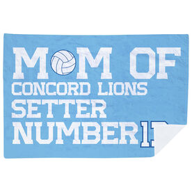 Volleyball Premium Blanket - Personalized Volleyball Mom