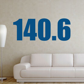 140.6 Removable TRIForeverGraphix Wall Decal