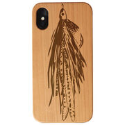 Fly Fishing Engraved Wood IPhone® Case - Large Fly
