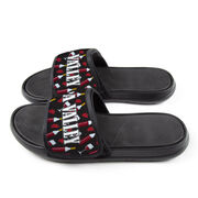 Personalized Repwell® Slide Sandals - Wine