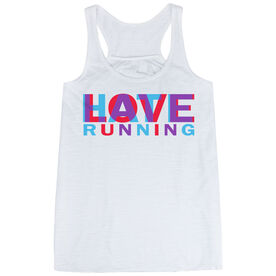 Flowy Racerback Tank Top - Love Hate Running