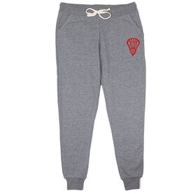 Girls Lacrosse Joggers - Lax Head Monogram
