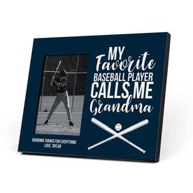 Baseball Photo Frame - Grandma's Favorite Player