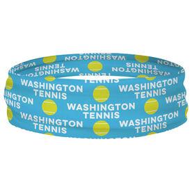 Tennis Multifunctional Headwear - Custom Team Name Repeat RokBAND